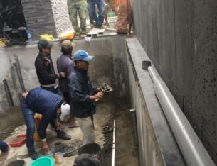 Chuyên thi công sửa chữa cải tạo hồ cá Koi  chuyên nghiệp